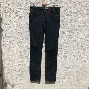 H&M dark rinse skinny jeans